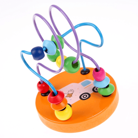 Wooden Early Education Round Bead Toy Brick