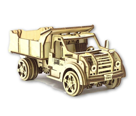 Eco-Friendly Construction Kit: Truck (215 pcs)