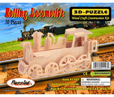 3D Puzzles - Rolling Locomotive (30 pcs)