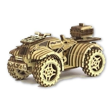 Eco-Friendly Construction Kit: Quad Bike (80 pcs)