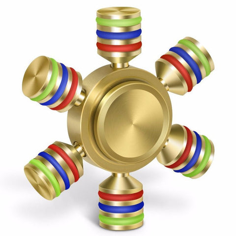 Copper Metal Fidget Spinner