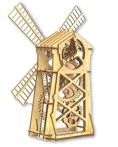 Eco-Friendly Construction Kit: Windmill (80 pcs)