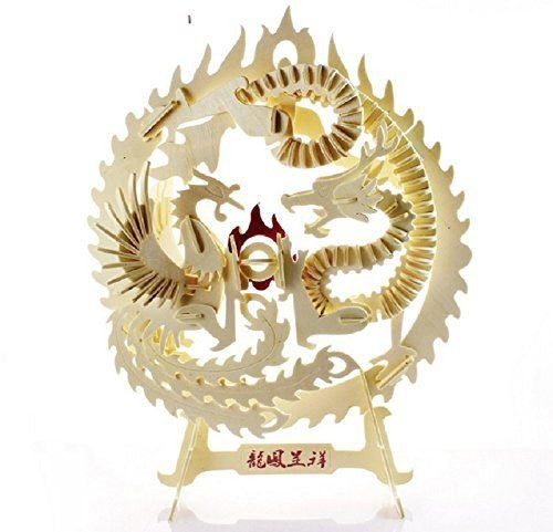 3D Puzzles: Lucky Dragon & Phoenix (147 pcs)
