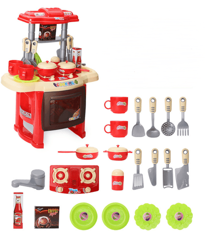 Mini Kitchen Cooking Toy