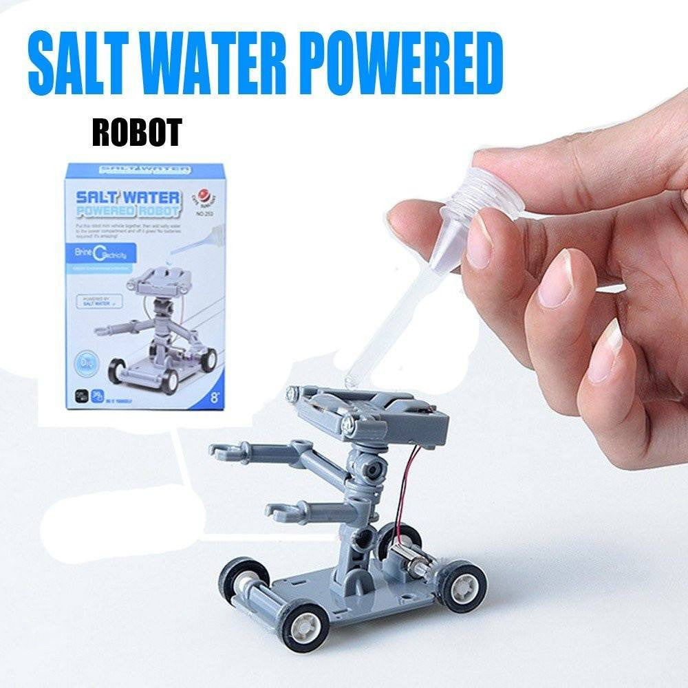 how to make a water powered toy car
