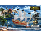 3D Puzzles - Pirate Ship (139 pcs)