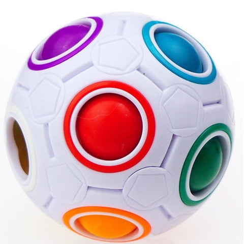 FREE + Shipping  - Magic Rainbow Ball Puzzle