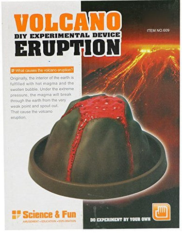 Volcano Eruption kit (DIY Experimental Device)