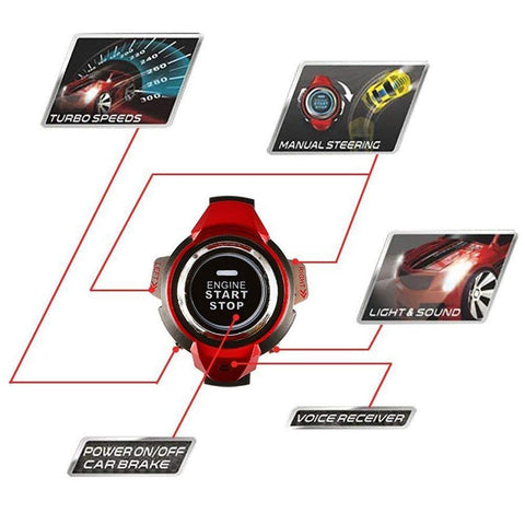Watch Car - Smart Watch + Voice Command Car