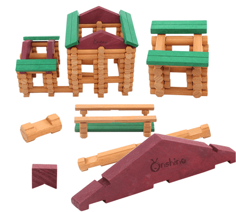 Tribal Cabin Children's Puzzle