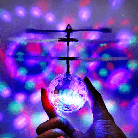Flying Magic Ball LED Flashing Mini Drone