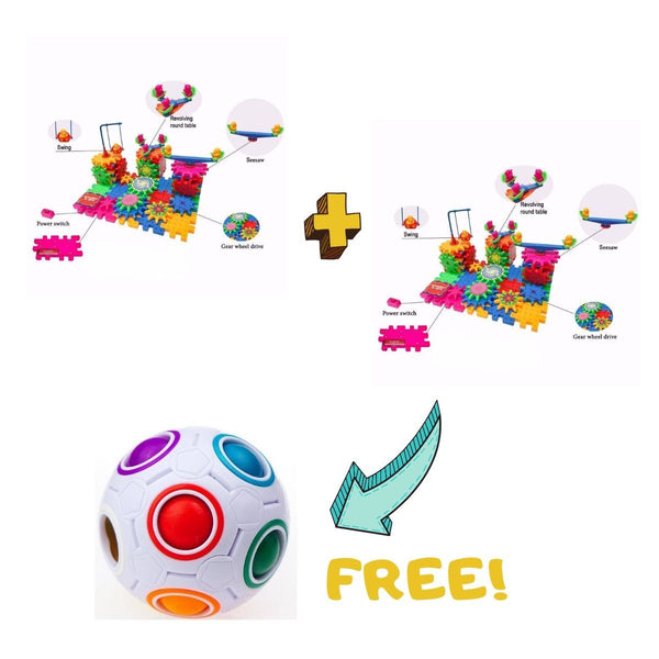 Buy 2 Wonder Gears™ Get 1 Magic Rainbow Ball Puzzle for FREE!