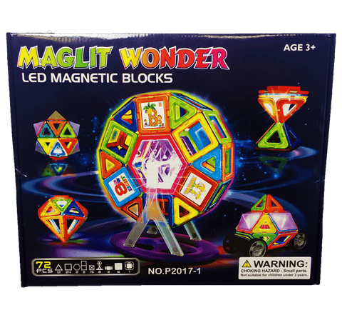 6 SETS- MagLit Wonder 72 PCS + 15 Stickers