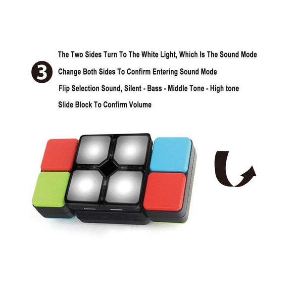 Magic Cube Flipslide Puzzle