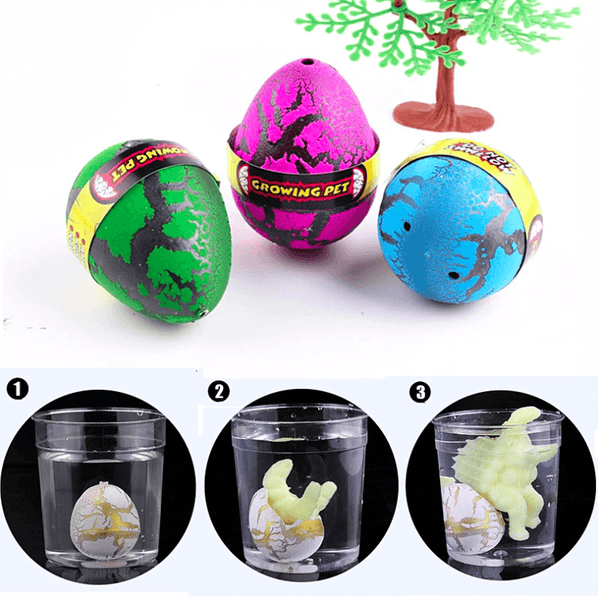 Dinosaur Eggs In Water - 4 pcs