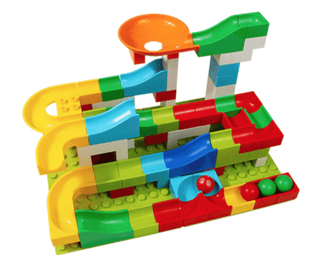 Marble Race Run Track - 104 pcs