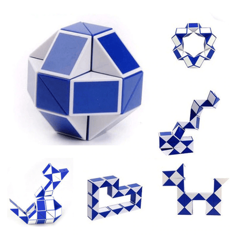 Snake Magic Puzzle Cube Twist Fidget