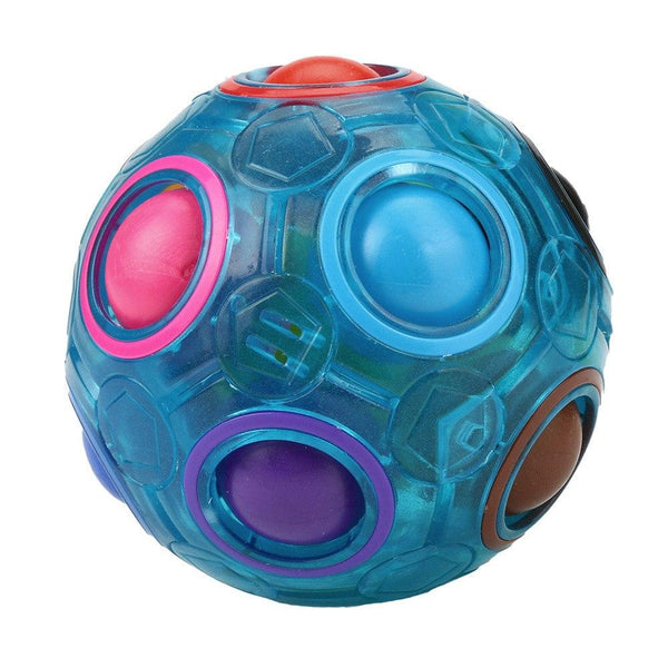 Magic Rainbow Ball Puzzle - Blue