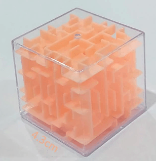 3D Cube Puzzle Hand Game