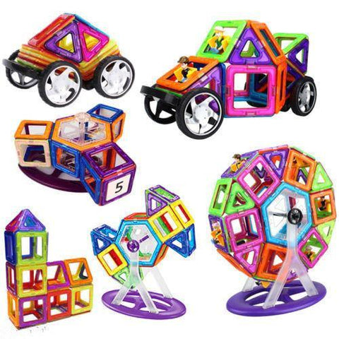 4 SETS- MagLit Wonder 72 PCS + 15 Stickers