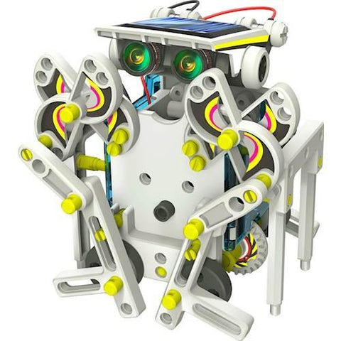 New 13-in-1 Educational Solar Robot Kit DIY