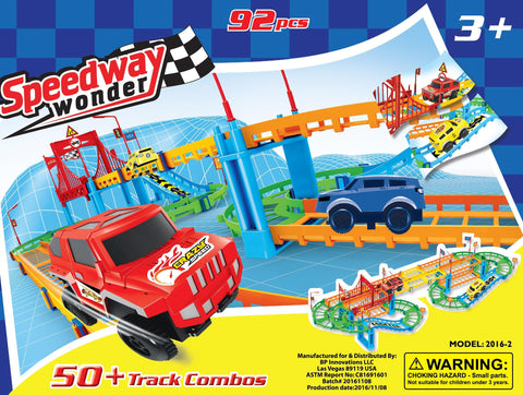 Speedway Wonder™️ Assembly Adventure Ages 3+ (92 Pieces)