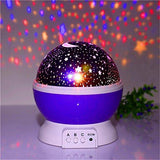 Starry Sky LED Night Light Projector Moon Lamp