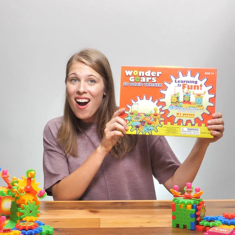 Buy 1 Get 1 Wonder Gears™ 3D Brain Trainer Building Set (Age 3+)