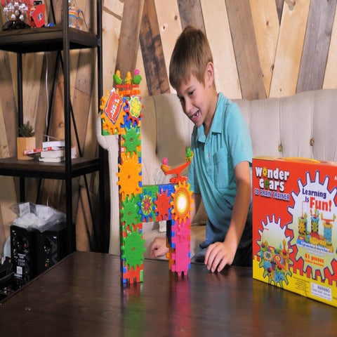 Wonder Gears™ 3D Brain Trainer Building Set (Age 3+)