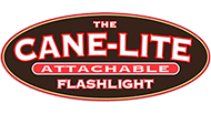 The Cane-Lite Attachable LED Flashlights for Canes