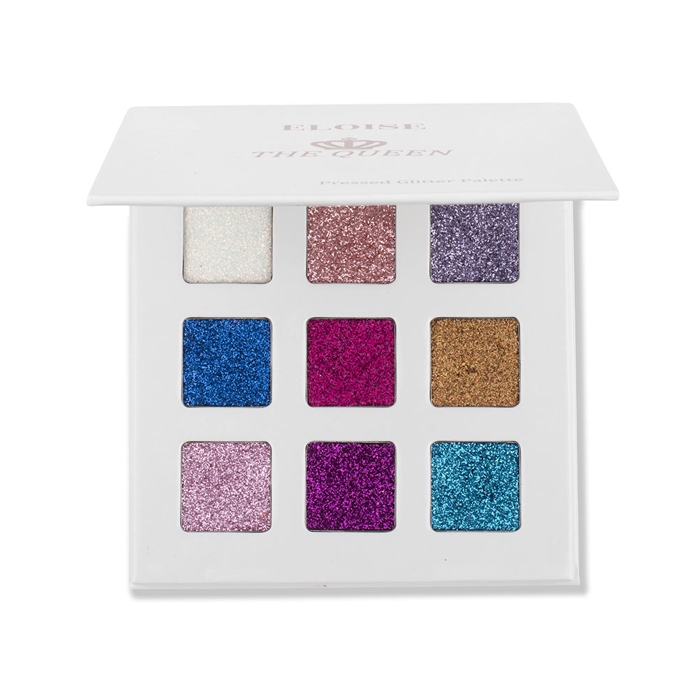 The Queen Pressed Glitter Eye Shadow Palette