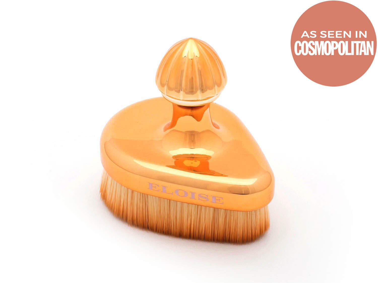 Gold Tear drop Brush