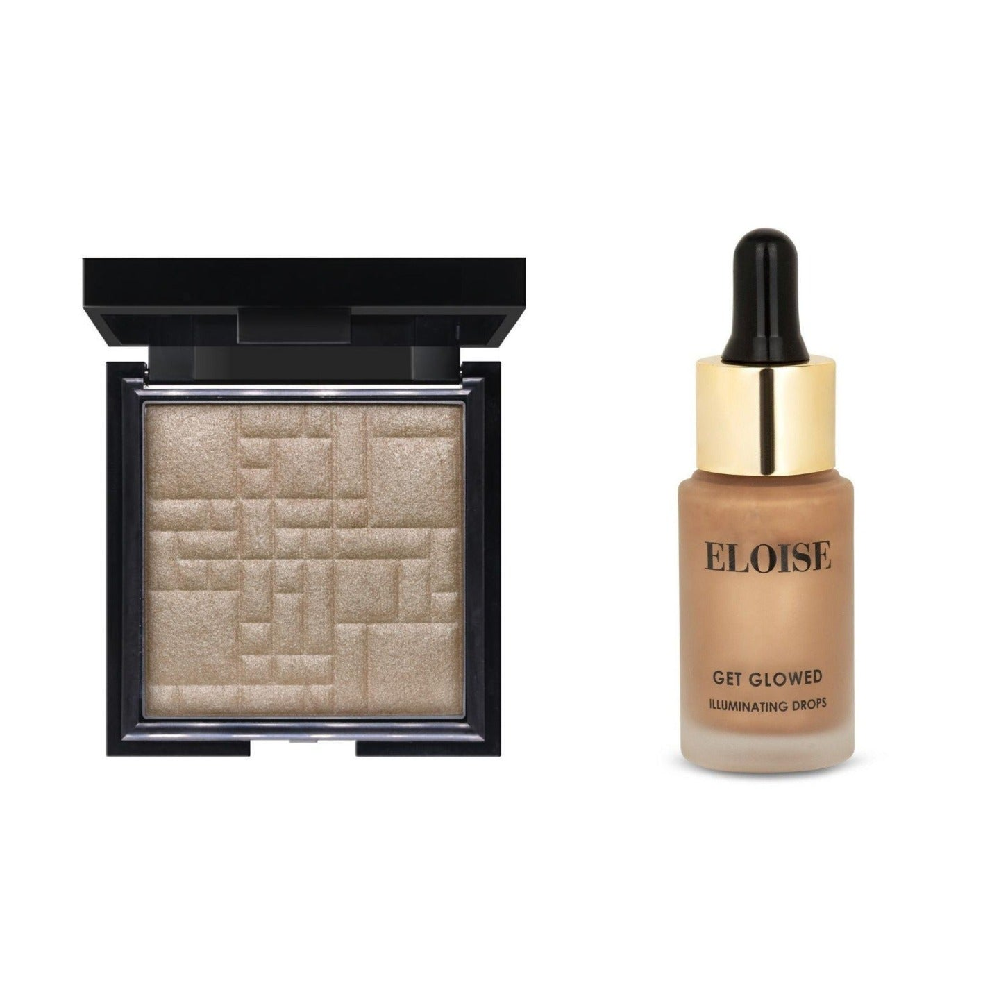 Champagne Glow & Lights, Camera, Action Glow Duo Set