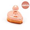 Clearance - large Rose Gold Tear Drop Brush