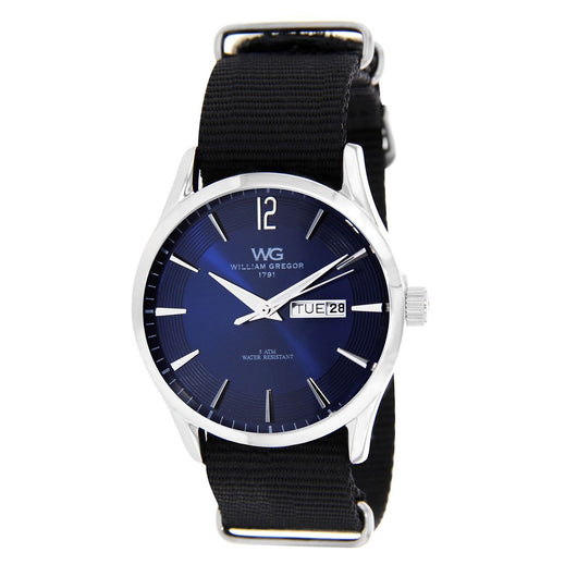 William Gregor 1791 Blue/Black Mens Watch BWG30067-208
