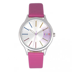 Related product : Crayo Gel Leatherette Strap Watch - Hot Pink