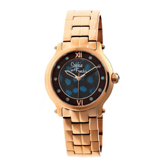 Related product : Sophie & Freda Siena Ladies Bracelet Watch - Rose Gold