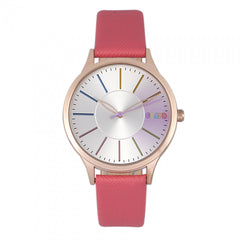 Related product : Crayo Gel Leatherette Strap Watch - Coral