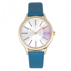 Related product : Crayo Gel Leatherette Strap Watch - Blue