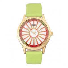 Related product : Crayo Electric Leatherette Strap Watch - Light Green