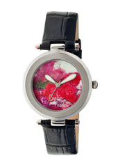 Related product : Sophie & Freda Butchart Leather-Band Ladies Watch - Black