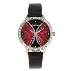 Related product : Sophie & Freda Rio Grande Leather-Band w/Swarovski Crystals - Silver/Black