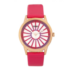 Related product : Crayo Electric Leatherette Strap Watch - Hot Pink