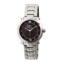 Related product : Sophie & Freda Siena Ladies Bracelet Watch - Silver/Red