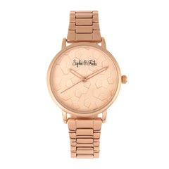 Related product : Sophie & Freda Breckenridge Bracelet Watch - Rose Gold