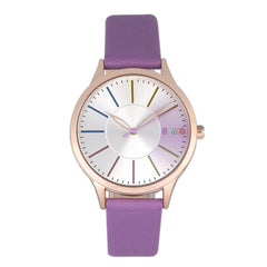 Related product : Crayo Gel Leatherette Strap Watch - Purple