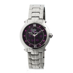 Related product : Sophie & Freda Siena Ladies Bracelet Watch - Silver/Purple