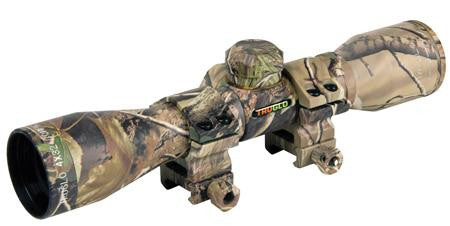 Truglo 4X32 Crossbow Scope Camo w- Rings TG8504C3