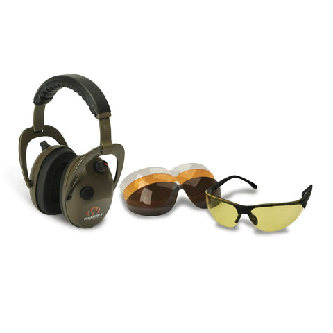 Walkers Alpha Muff-Shooting Glasses Combo