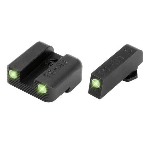 TRUGLO Brite-Site Tritium Handgun Sight - Glock 42 Set
